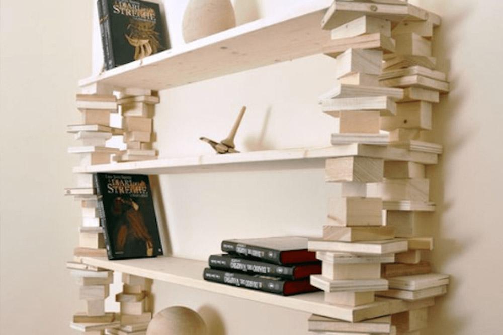 Home produzione vendita e riparazione palletts golin for Libreria fai da te